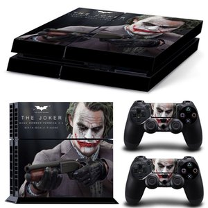 Fanstore Skin Sticker Vinyl Wrap Cover The Joker for Playstation PS4 Console and 2 Remote Controller Cool Design