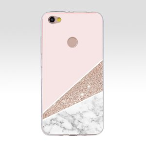 64G Pink Blue Ink Marble For Xiaomi Redmi Note 5A Prime Cases Soft Silicone For Xiaomi Redmi Note 5A Prime 5.5