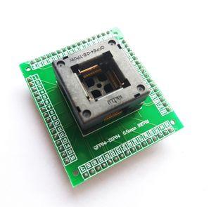 Freeshipping QFP64 TQFP64 LQFP64 adattatore presa IC programmatore presa di prova qfp64 presa tqfp64 lqfp64