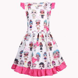 Çocuklar giysi tasarımcısı kızlar küçük kızların prenses elbiseler ins sevimli oyuncaklar yaz bebek giysileri bebek elbiseleri