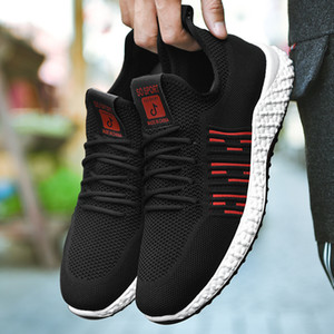 2020 G.N.SHIJIA moda Top Quality PU Rubber Sole Nero Rosso 36 Donna Uomo Running Shoes Sport Sneakers