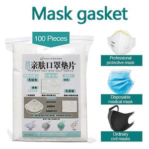 DHL Tek Yüz Hızlı teslimat Toptan Yüz Maskeleri maskeleri Pad Filtre Conta Genişletilmiş kullanım süresini Maske