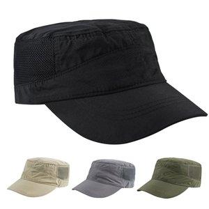 Fishing Summer Adjustable Outdoor Sunshade Quick Dry Fashion Baseball Hat Hiking Casual Flat Cap Adult Military Golf Sports