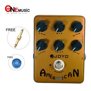 Pedal de efectos de sonido americano Joyo JF-14 con simulador de amplificador Fender Deluxe y pedal de control de voz único