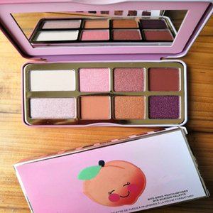 2018 New Eye makeup Faced Sugar Cookie or Tickled Peach Mini Eyeshadow Make Up Holiday Chirstmas 8color eyeshadow palette free shipping