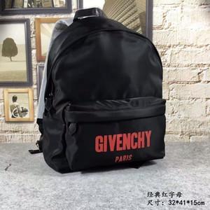 Мужчины и женщины простой школьный рюкзак большой емкости путешествия рюкзак колледж ветер компьютерный пакет отдыха off-w1538