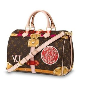 30 Speedy M41386 New Women Fashion Shows Shoulder Bags Totes Handbags Top Handles Cross Body Messenger Bags