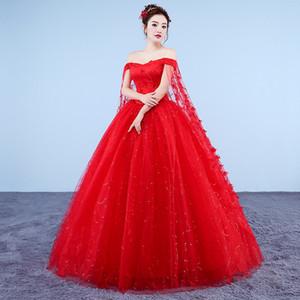 100% настоящий красный / белый платок воротник косплей бальное платье королевская принцесса средневекового ренессанса викторианское платье Belle ball / can таможенного размера