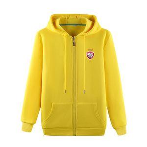 Latvia Football Team Soccer Sports Fashion Sweater Men's Football Outdoor Jogging Warm Clothing Casual Autumn Jacket