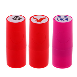 3 Set Golf Rubber Ball Seal Ball Stamper Fast Dry Plastic Silicone Stamp Seal for Marker Print