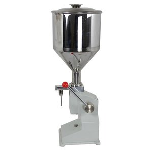 Food Liquid Filling machine Manual hand pressure stainless paste dispensing liquid packaging equipment sold cream filling machine 1 ~ 50ml