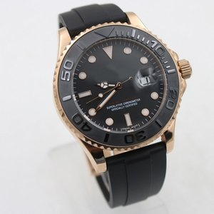 Os homens assistir 43 milímetros modelo de 40 milímetros relógio relógios mecânicos automáticos Data movimento de varredura relógio de pulso MESTRE HOT