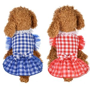 Dog Clothes For Small Dogs chihuahua t shirts women pet clothes dog clothing in Dog Dresses ropa perros TY2446