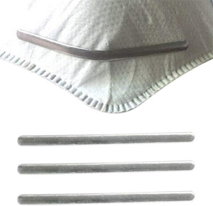 Aluminum Strips Nose Wire Nose Bridge Bracket For Mask Metal Flat Nose Clips DIY Wire For Sewing Crafts