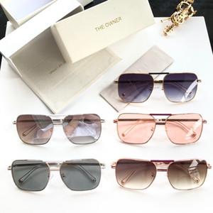 Sahibi TOFX114 2019 Marka tasarım Güneş Gözlüğü kadın erkek Marka tasarımcı Moda metal Boy güneş gözlüğü vintage kadın erkek UV400