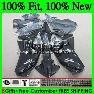 Einspritzung für HONDA CBR300R CBR250R MC41 11 12 13 14 15 75GP0 CBR250 R CBR 250R 250 R 2011 2012 2013 2014 2015 Hot Black Fairing Bodywork