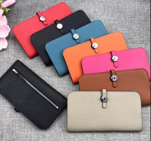 H Designer Wallet Portafoglio in pelle di vacchetta Portafoglio donna Portafogli Portafogli Portafoglio porta carte di credito Portafoglio portafogli