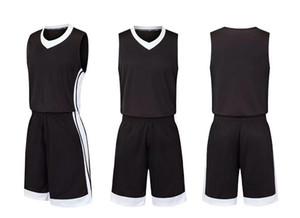 2019 nuevos hombres Traje de baloncesto ropa deportiva, camiseta de entrenamiento Estudiantes universitarios streetwear Kits de uniformes de baloncesto Ropa deportiva chándales