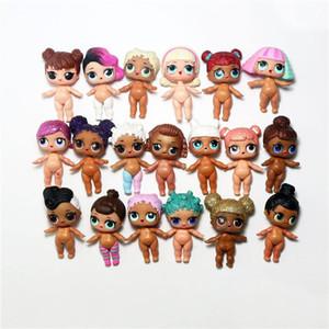 2020 Comercio al por mayor calidad del producto 8cm LOL linda sorpresa muñecas de carácter aleatorio Accesorios 30pcs recoger las muñecas movible juguete mejor regalo para las chicas