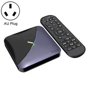 A95X F3 RGB Light 4K Smart TV BOX Android 9.0 Media Player wtih Remote Control, Quad-core Amlogic S905X3, RAM: 4GB, ROM: 32GB, AU Plug