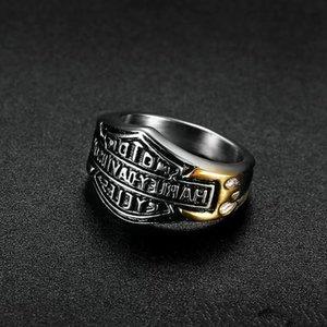 NEW COOL MEN.S BIKER HARLEY кольцо из нержавеющей стали