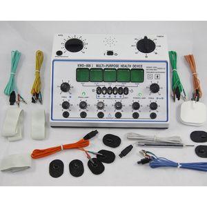 6 каналов Десятки Многоцелевой иглоукалывание стимулятор здоровья массажер KWD-808I иглоукалывание Электрический стимулятор нервных мышц