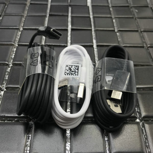 100% Genuine Original S8 USB Black White Type-C 1.2M fast Charing Data Sync Cable For Samsung S8 9 Note 7 8 S10
