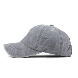 Hombres Mujeres Llano Béisbol Béisbol color sólido del casquillo del visera curvada sombrero ajustable Nylon Tamaño sujetador de cinta sombreros casual # P4