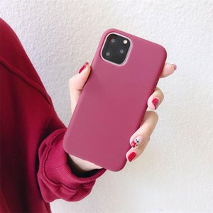 Ultra Thin Cheap Candy Colors Phone Case For iphone 11 Pro Max XS MAX XR X 6S 7 8 plus