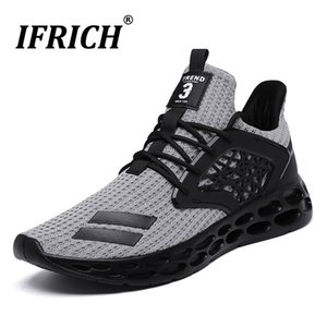 Sport Shoes Man Breathable Summer Sneakers Mesh Cushioning Running Shoes for Man Athletic Cross Training Fitness Shoe Gym Tennis