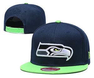 Популярный Спорт Бейсбол Snapback Шляпа для Hip Seattle команды Brands выскочить двери Sun Caps Дешевого Flat Bill Спорт Мода Регулируемую Bone Мужской