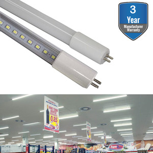 T5 Led Tube Bulb Light, G5 LED Tubes, Dual-End Powered Ballast Bypass Replacement for Flourescent Tubes Garage Warehouse Factory Shop
