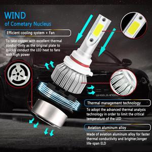Auto Car LED Headlight Bulb Lamp H1 H3 H4 H11 H7 HB3 HB1 9003 9004 9005 LED Car Headlight 6000K 8000LM Waterproof