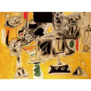 Canvas art oil Paintings Mesa paisaje Arshile Gorky Hand painted abstract artwork for bedroom decor