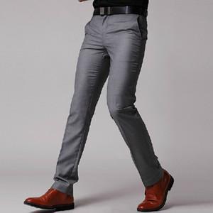 Новый мужской костюм брюки мода мужская бизнес формальный костюм брюки Slim Fit дизайн Мужские брюки Брюки на заказ