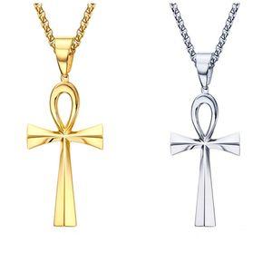 Креста ожерелье кулон 64мм из нержавеющей стали Anka Крест Подвеска