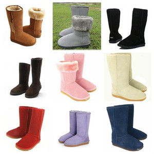 High Quality WGG Women's Classic tall snow Boots Womens boots shoes Winter leather Ankle boots US SIZE 4--13