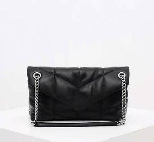 pele de carneiro bolsas de luxo bolsas LOULOU PUFFER designer saco crossbody saco da senhora bolsa de ombro nova moda das mulheres bolsa do couro genuíno sacos