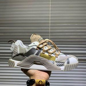 Dolce & Gabbana D&G Coach uomo e scarpe da donna Fashion Sneakers iconici lusso degli uomini di lusso casual in pelle pizzo all'uncinetto Sneakers35-41