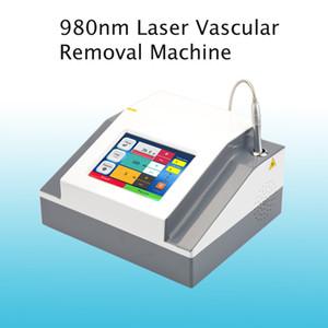 وافق 980NM DIODE VASCULAR ازالة المحمولة حجم البقعة 980nm الصمام الثنائي ليزر لإزالة الوريد الأوعية الدموية آلة نظام جمال م