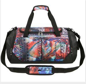 New fitness yoga bag shoulder slung folding luggage bag portable travel bag