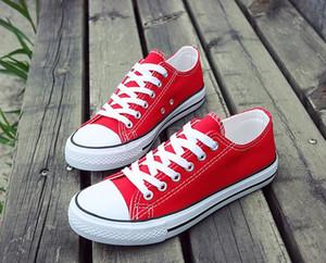 Холст Обувь кроссовки Женщины Мужчины Низкий Стиль моды люкс Классическая дизайнерская Обувь Повседневная Холст Обувь Новый Фабрика Промо Цена