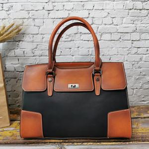 IMYOK Casual Tote Bag Mulheres couro macio bolsa de Grande Capacidade Ladies mão bolsa de ombro para as Mulheres 2020 do clássico Bolsa Feminina