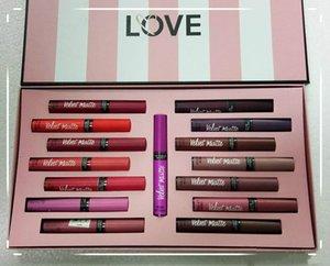 помада косметика Brand New Velvet Matte Liquid набор 15 цветов Водонепроницаемый долговечные Блеск для губ FreeShipping DHL