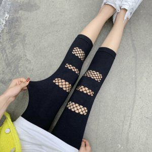 2020 New Style Solid Color Leggings Modal Thin Lace Stitching Pants Student Girls Summer Sweet Kawaii Hot Sale Fashion Outdoor Trousers