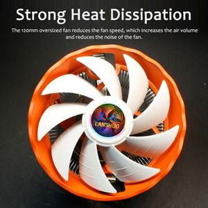 Кулер 12см 3Pin Led Rgb вентилятор охлаждения для LGA 775/1156/1155/1151/1150 / Amd