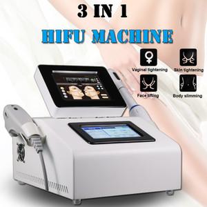 2019 HIFU Vaginal Tightening Machine Vaginale ringiovanimento Hifu Lifting antirughe rimozione corpo che dimagrisce attrezzature di bellezza