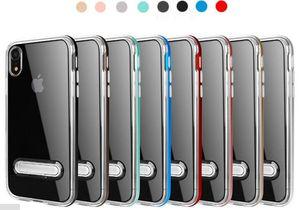 SPIGEN híbrido Case abejorro Armor Para iphone12 11xr xsmax Samsung s10 Slicone 3 en 1 casos transparentes avispón Kickstand