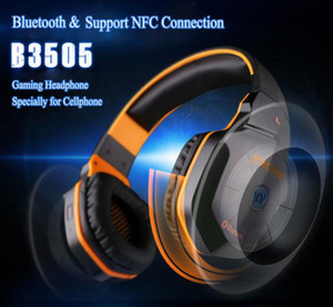 KOTION CADA B3505 sem fio Bluetooth 4. 1 Stereo Gaming Headphones Headset Controle de Volume Microfone HiFi Música Headsets jogo W605 10pcs DHL