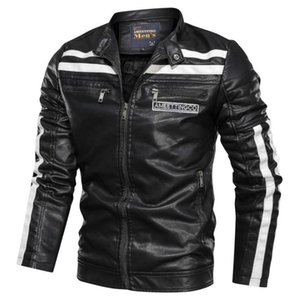 Causal jackets mens PU Leather Jackets Mens Overcoat comfortable man Lightweight Outwear Warm Clothes For Men Hot Sale